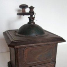 Antigüedades: MOLINILLO DE CAFÉ MARCA PEUGEOT FRÈRES, MODELO K, TALLA 2. FRANCIA. CA. 1870/1936. Lote 161518090