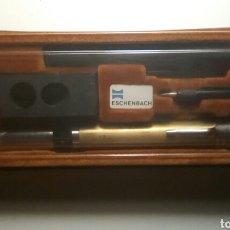 Antigüedades: MICROSCOPIO PORTATIL ESCHENBACH . 40 , 50 , 60 AUMENTOS. Lote 161521420