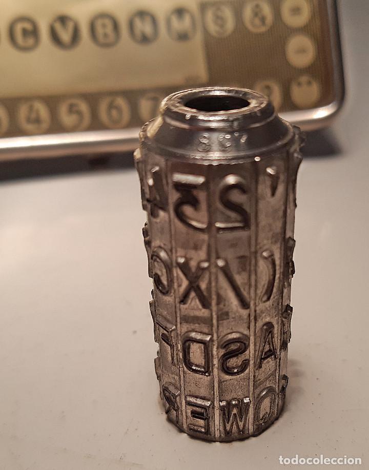 Antigüedades: Cilindro o tambor y placa para AEG Mignon , modelo 897, Alemania, primera mitad del siglo pasado - Foto 2 - 161549026