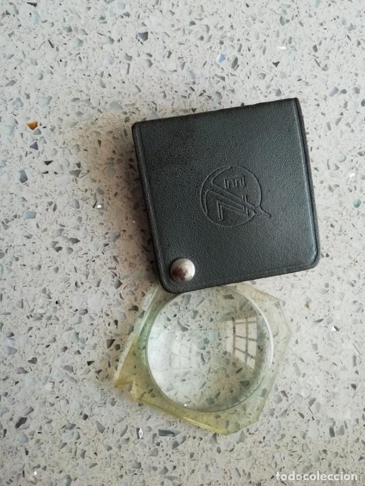 ANTIGUA LUPA MUCHO AUMENTO CON PUBLICIDAD E Z (Antigüedades - Técnicas - Otros Instrumentos Ópticos Antiguos)