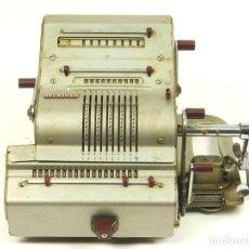 Antigüedades: CALCULADORA ANTIGUA BRUNSVIGA 18 RK AÑO 1952. Lote 161586850