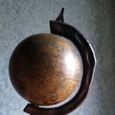 Antigüedades: GLOBO TERRÁQUEO MUNDO, ESFERA TERRESTRE, BOLA DEL MUNDO. Lote 161627958