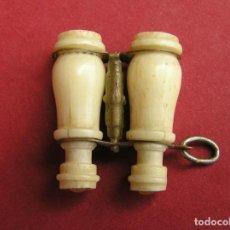 Antigüedades: STANHOPE PRISMÁTICOS MINIATURA DE HUESO . VISTAS DE Nª Sª DE CULLERA. Lote 161654274