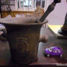 Antigüedades: ANTIGUO MORTERO ALMIREZ DE FARMACIA. Lote 161708606