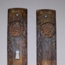 Antigüedades: TIRADORES ARMARIO. Lote 161819462
