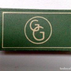 Antigüedades: HOJA DE AFEITAR ANTIGUA,G&G,APOLLO SOLINGEN,GRIMMSTAHL. Lote 161883978