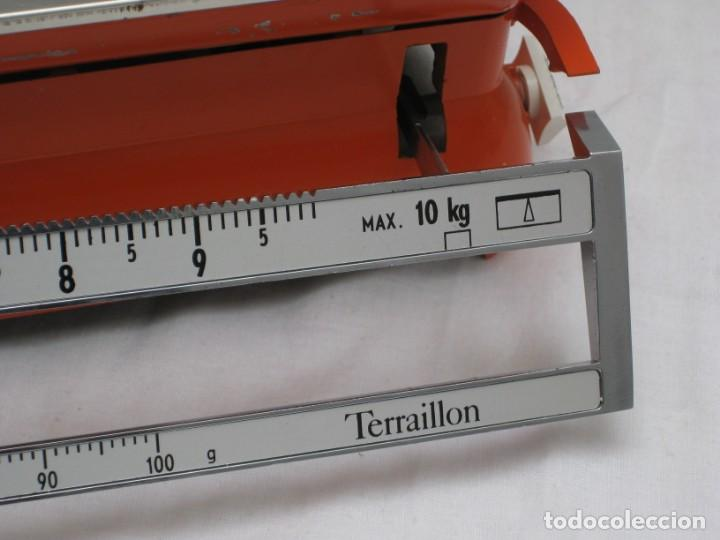 Antigüedades: Antigua bascula pesa cartas, de oficina. Terraillon. - Foto 3 - 161936890