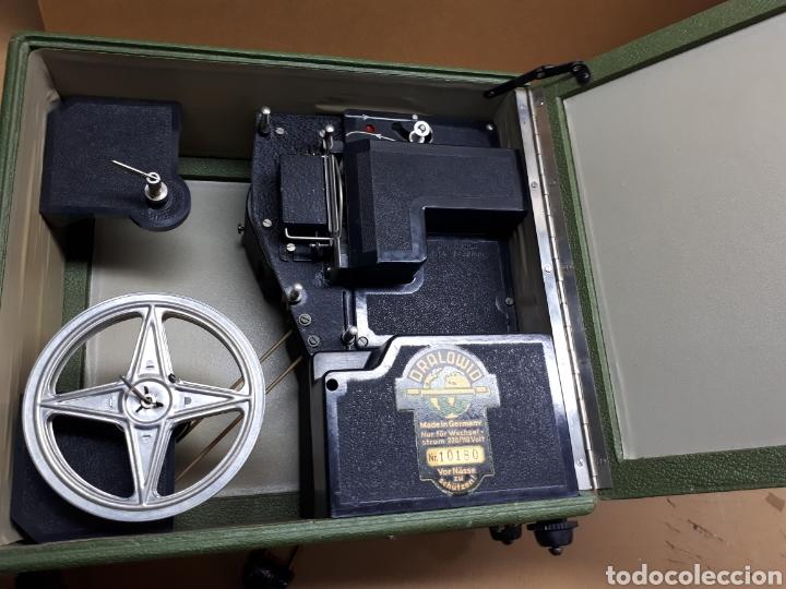 Antigüedades: Proyector Dralowid. Made in Germány. Funcionando de los años 50 - Foto 2 - 162006658