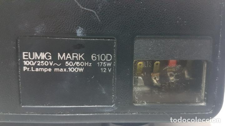 Antigüedades: PROYECTOR EUMIG MARK 610 D - Foto 11 - 162095858