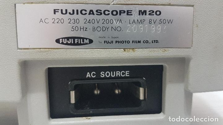 Antigüedades: PROYECTOR FUJI FILM FUJICASCOPE M20 - Foto 10 - 162096394