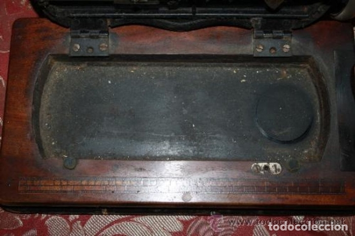 Antigüedades: MAQUINA DE COSER EN FORMA DE GUITARRA. VESTA. ALEMANIA. PRINCIPIOS SIGLO XX. - Foto 21 - 162193658