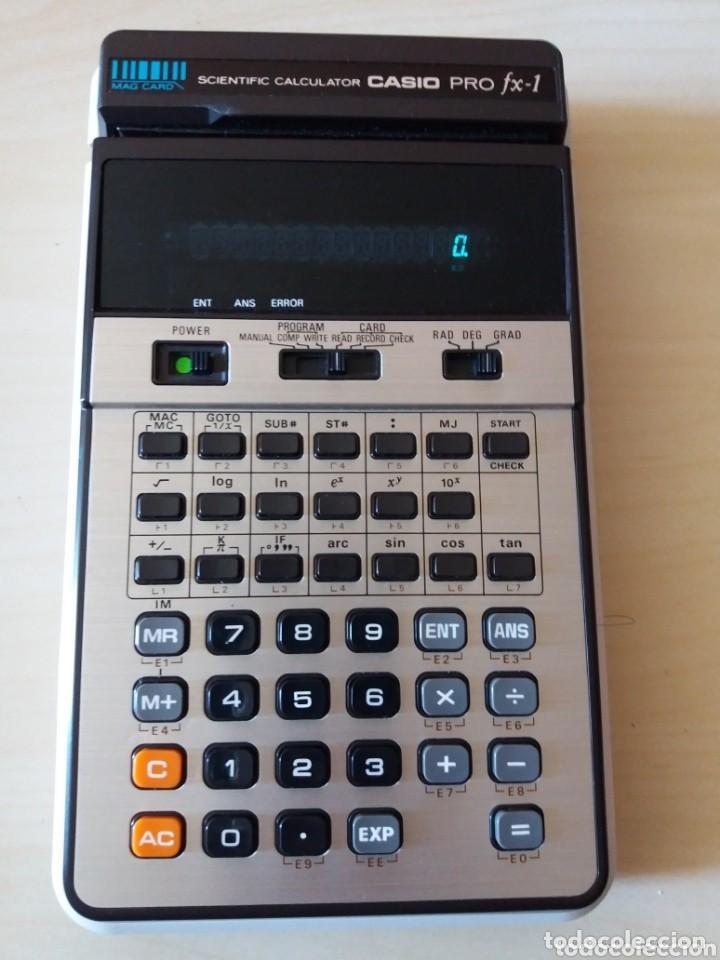ANTIGUA Y MUY DIFÍCIL CALCULADORA CASIO PRO FX-1 (Antigüedades - Técnicas - Aparatos de Cálculo - Calculadoras Antiguas)