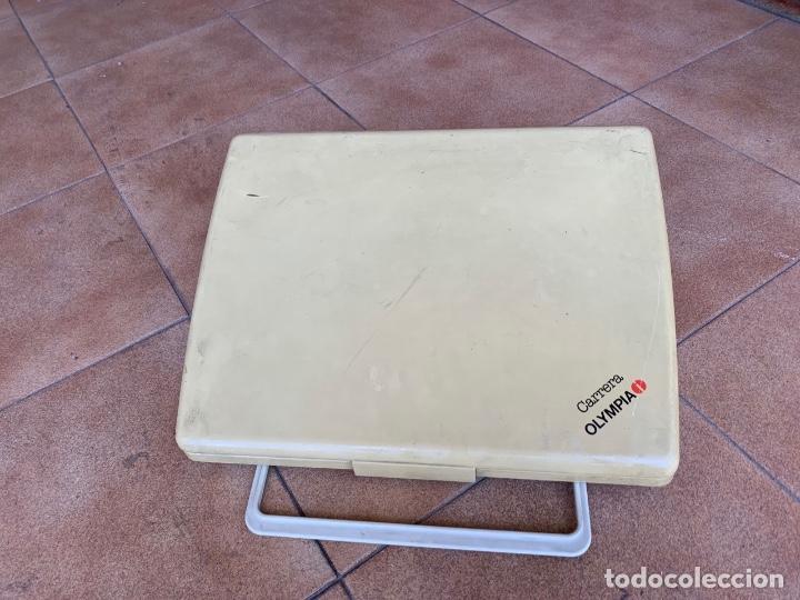 Antigüedades: máquina escribir electrónica Olympia Carrera - Foto 3 - 162250690