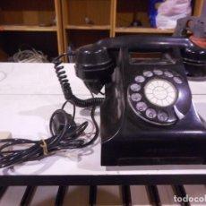 Teléfonos: TELEFONO ANTIGUO ADAPTADO PREPARADO PARA FUNCIONAR. Lote 162281030