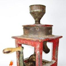 Antigüedades: RARA MAQUINA MOLINO XIX ARROZ HISTORIA INDUSTRIAL VALENCIANA IMAD DOMINGO GOMEZ GRANERIA SUECA. Lote 162318618