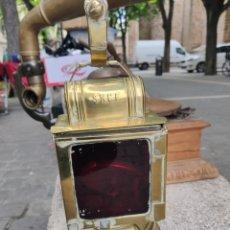 Antigüedades: LAMPARA DE TREN. Lote 162336838