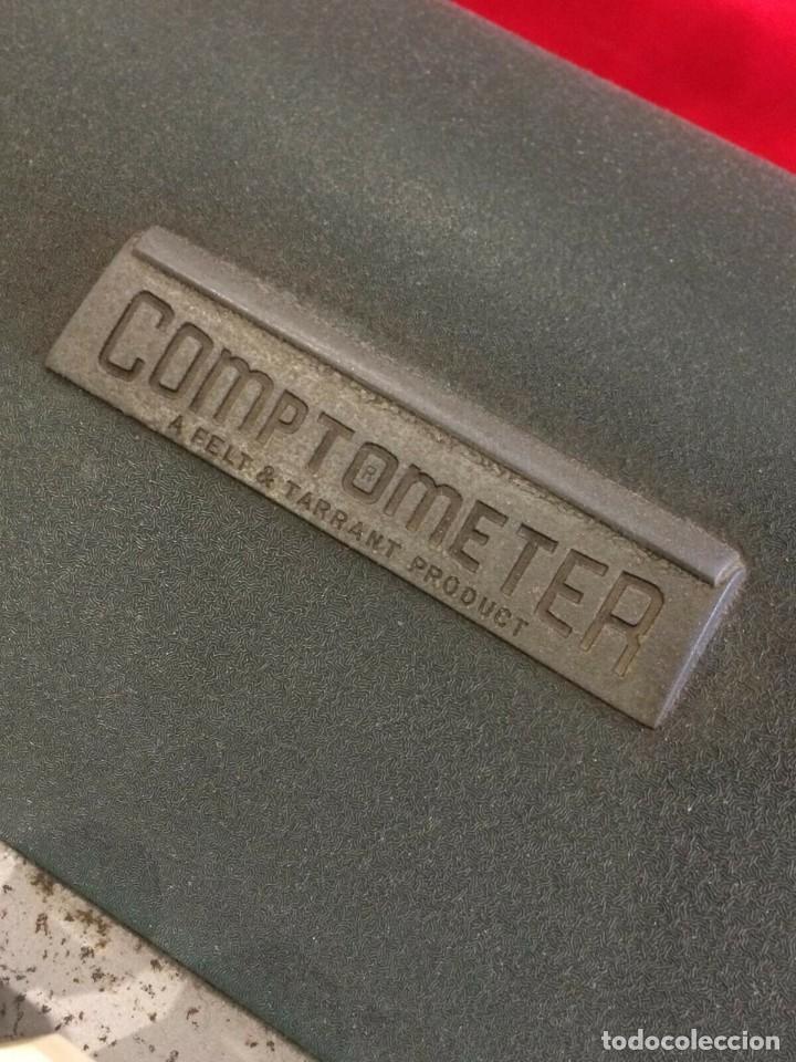 Antigüedades: ANTIGUA CALCULADORA COMPTOMETER DE FELT & TARRANT DE U.S.A PARA ITALIA AÑOS 40 2ª GUERRA MUNDIAL - Foto 3 - 162339318