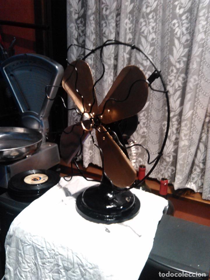Antigüedades: ventilador grande NUMAX - Foto 2 - 162458898