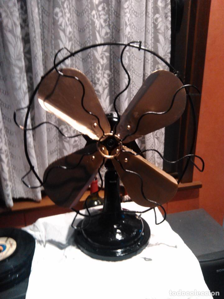 Antigüedades: ventilador grande NUMAX - Foto 3 - 162458898