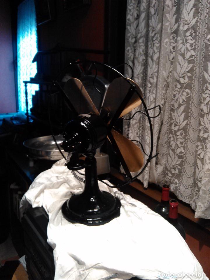 Antigüedades: ventilador grande NUMAX - Foto 7 - 162458898
