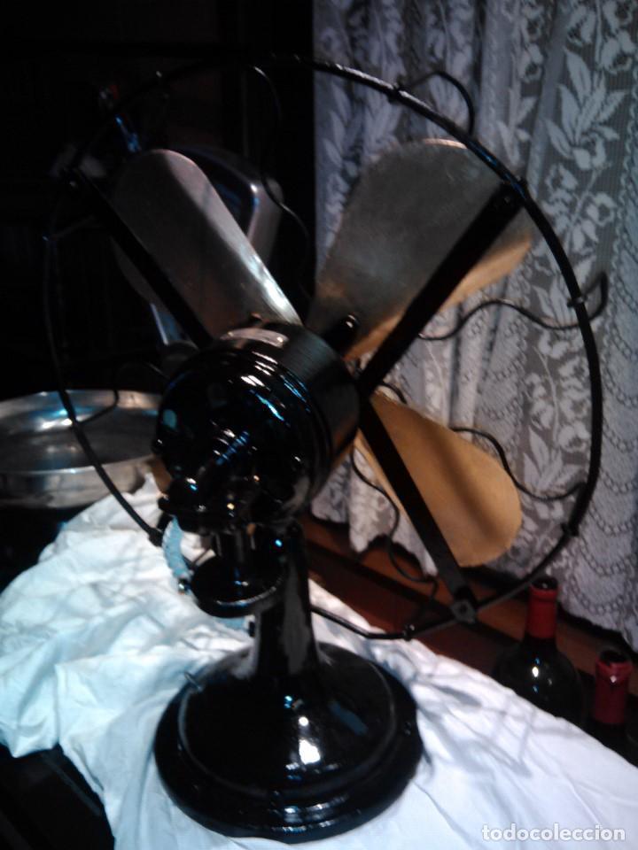 Antigüedades: ventilador grande NUMAX - Foto 8 - 162458898