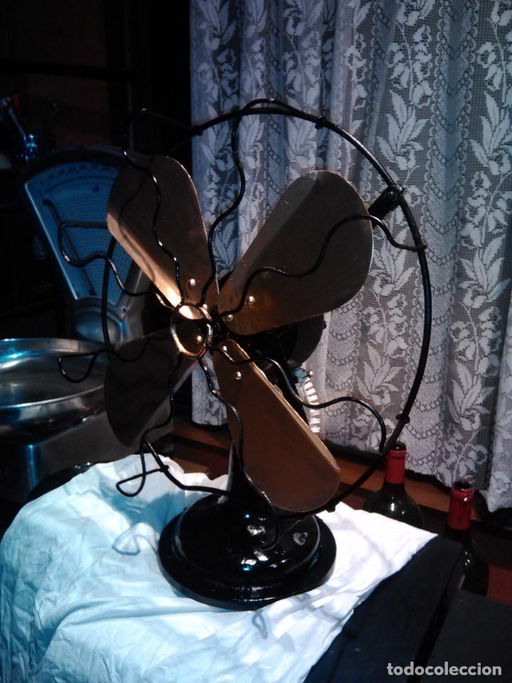 Antigüedades: ventilador grande NUMAX - Foto 11 - 162458898