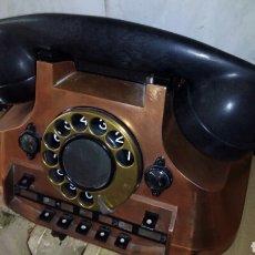 Teléfonos: ANTIGUO TELÉFONO CENTRALITA DORADO, ERICSSON. Lote 162571378