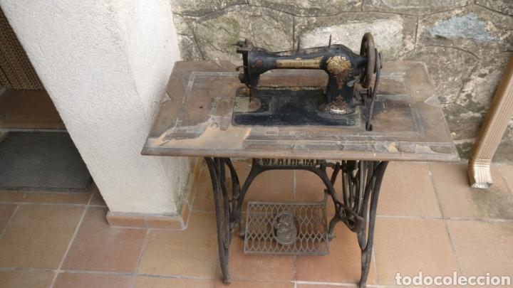 MÁQUINA DE COSER WERTHEIM RAPIDA BARCELONA 1920 (Antigüedades - Técnicas - Máquinas de Coser Antiguas - Wertheim )