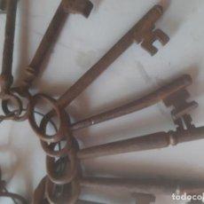 Antigüedades: LLAVES ANTIGUAS GRANDES. Lote 162604218