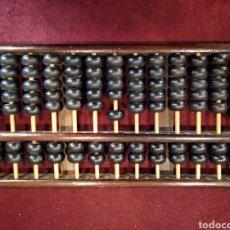Antigüedades: ÁBACO DE MADERA. Lote 162622944