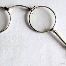 Antigüedades: GAFAS PLEGABLES DE PLATA MUY ANTIGUAS. Lote 162682906
