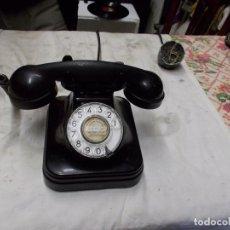 Teléfonos: TELEFONO DE BAQUELITA SOBREMESA. Lote 162775414