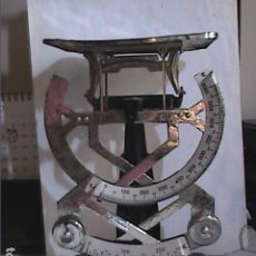 Antiquités: ANTIGUA BALANZA VINTAGE BILATERAL MARCA PETRUS. HASTA 1 KG.. Lote 162946210
