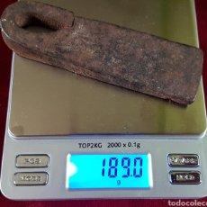 Antigüedades: ANTIGUA ROMANA MEDIDA PESO FORJA. Lote 163034010