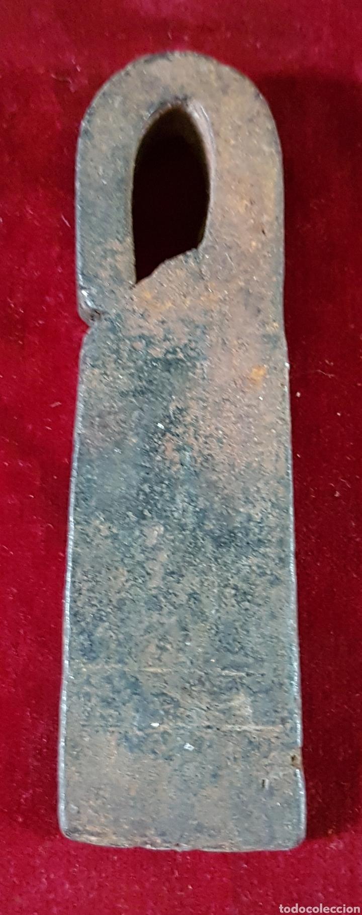 Antigüedades: Antigua romana medida peso forja - Foto 2 - 163034010