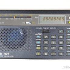 Antigüedades: CALCULADORA VINTAGE HISTORICA, RADIO Y RELOJ CANON RQ-1. Lote 191339927