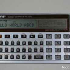 Antigüedades: SHARP PC-1245 CALCULADORA POCKET COMPUTER, HISTÓRICA, ANTIGUA, VINTAGE. Lote 163269674