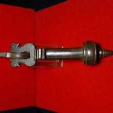 Antiquitäten - llamador siglo XIX , aldaba, hierro forja forjado - 163348314
