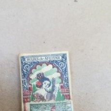 Antigüedades: ANTIGUO PAQUETE DE CUCHILLAS DE AFEITAR, SEVILLANA PRECINTADO CON SELLO. Lote 163454689