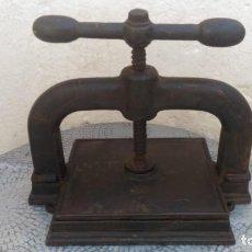 Antigüedades: ANTIGUA PRENSA. Lote 163498570