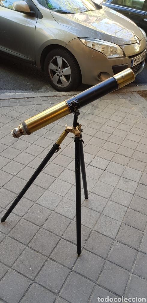 CATALEJO (Antigüedades - Técnicas - Instrumentos Ópticos - Catalejos Antiguos)