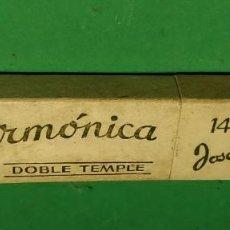 Antigüedades: CAJA VACIA ORIGINAL PARA NAVAJA DE AFEITAR FILARMONICA DOBLE TEMPLE 14. STRAIGHT RAZOR, BOX, RASOIO. Lote 163620334