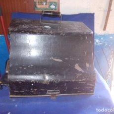 Antigüedades: TAPADERA ANTIGUA DE CHAPA. Lote 163683598
