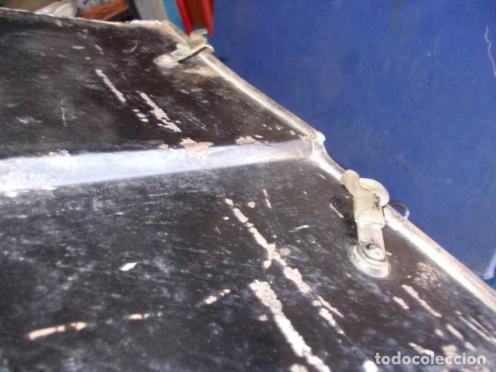 Antigüedades: tapadera antigua de chapa - Foto 8 - 163683598