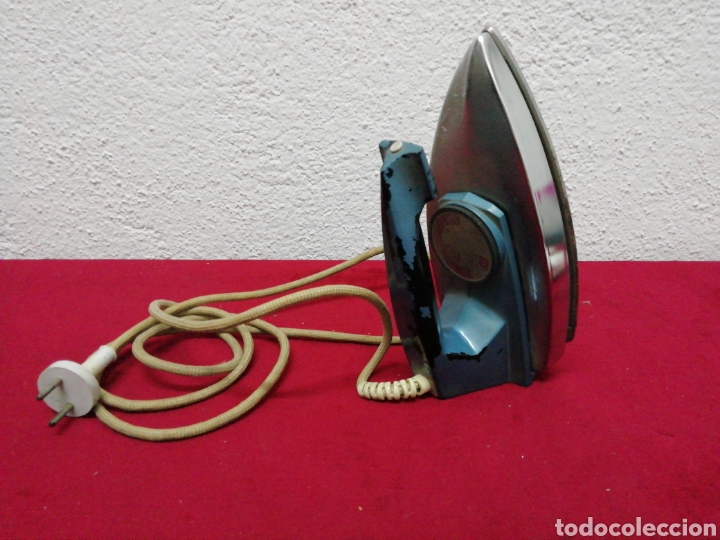 Antigüedades: Antigua plancha eléctrica Philips. HD1121BT. 115/230V - Foto 2 - 163699809