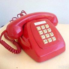 Teléfonos: TELEFONO HERALDO CITESA MÁLAGA. COLOR ROJO AÑOS 70 VINTAGE RETRO VINTAGE. Lote 163705958