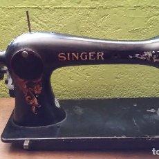 Antigüedades: SINGER MUY ANTIGUA CON NUMERACIÓN. Lote 163732722