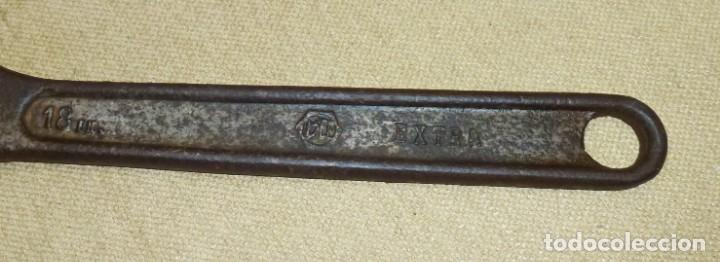 Antigüedades: llave inglesa grande - BEE - EXTRA.46 cm. - Foto 2 - 163764118