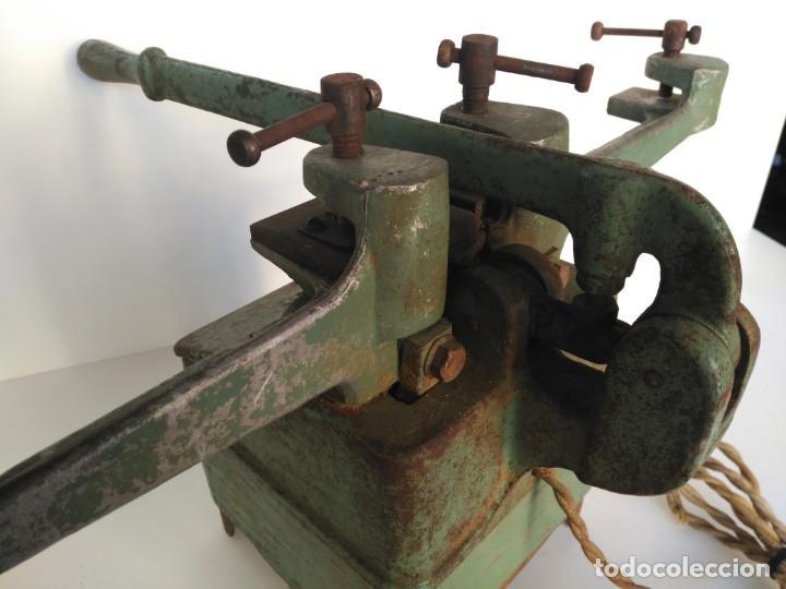 Antigüedades: Antigua maquina de electrosoldadura, marca Solder - Foto 3 - 163774882