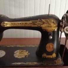 Antigüedades: MAQUINA DE COSER SINGER.. Lote 163797018